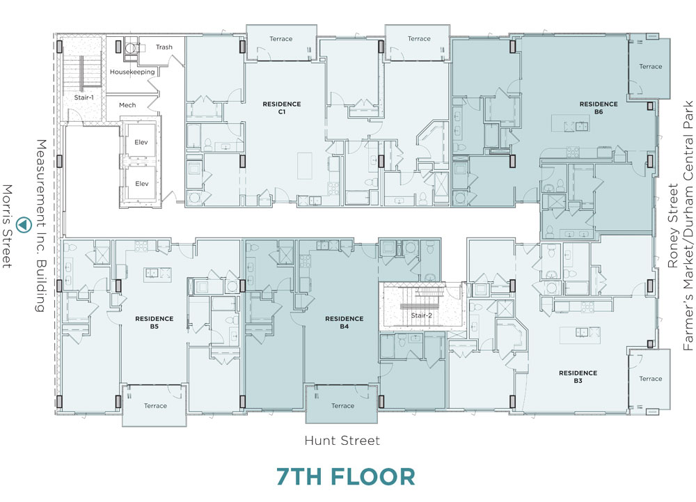 7th Floor Layout