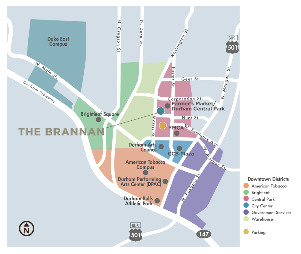 Brannan Vicinity Map