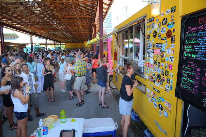Food Truck Rodeo at Durham Central Park